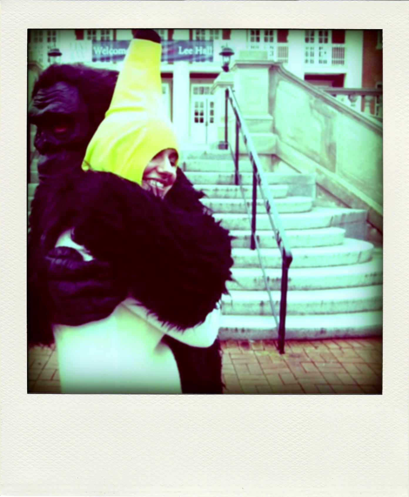 Leanna Isa Banana & Gavin the Gorilla