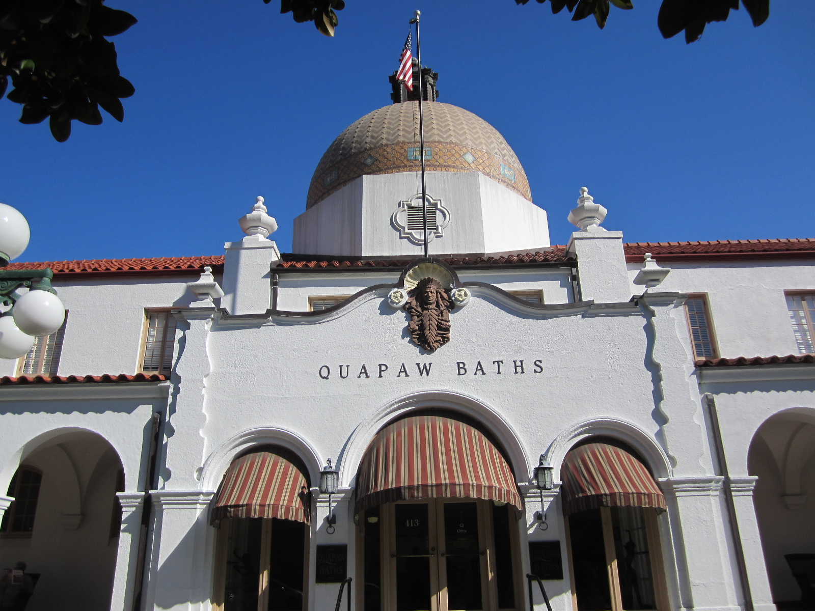 Quapaw Baths in Hot Springs