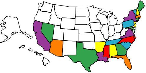 In 2011 I've visited 23 states