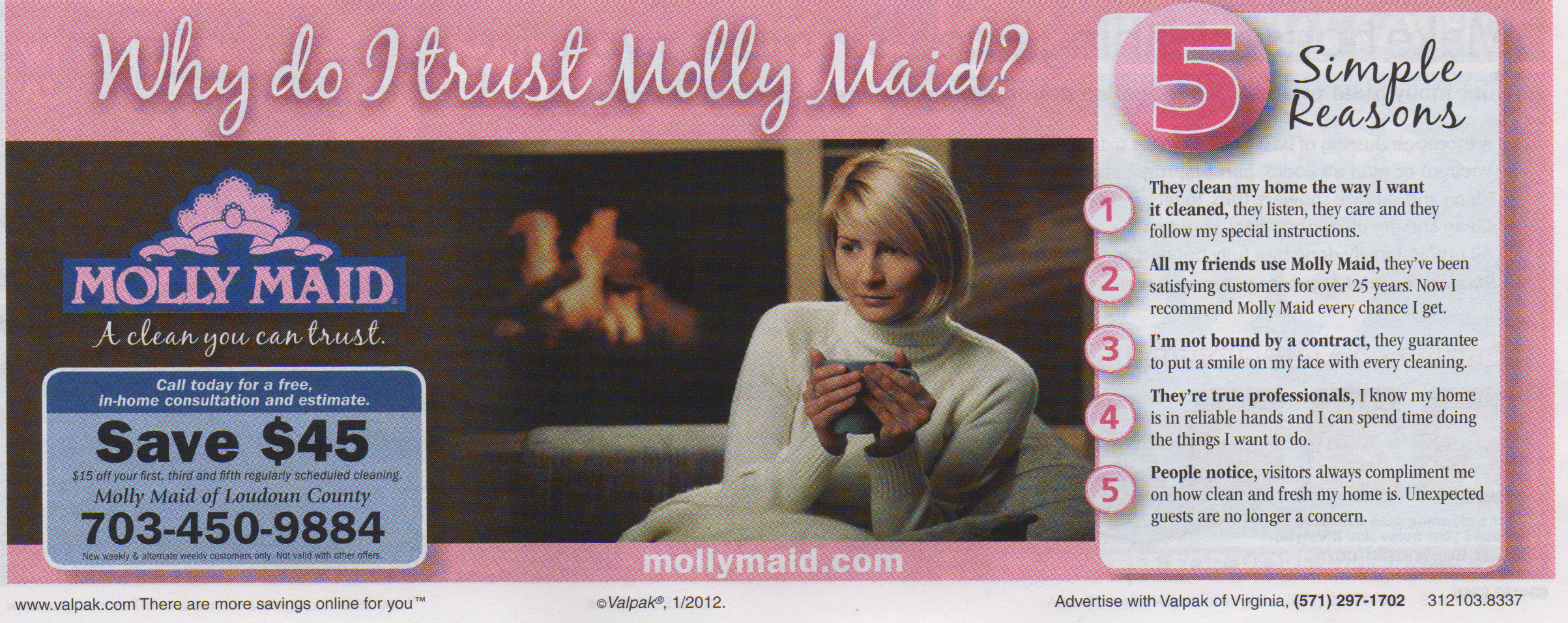 why to trust molly maid