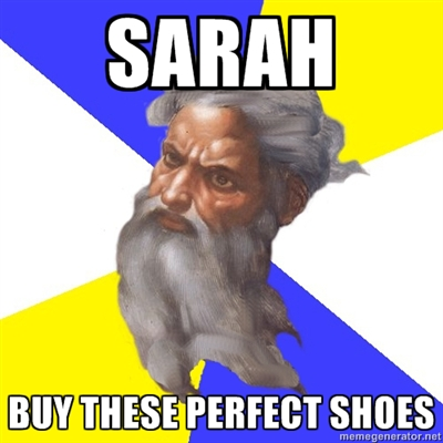 buy these perfect shoes-god